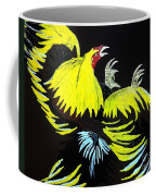 Cock Fight Or Flight Coffee Mug