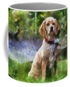Cocker Spaniel Outside 04 Coffee Mug
