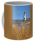 Cockspur Lighthouse In The Sanannah River Coffee Mug