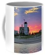 Cocktail Hour At Sandy Neck Lighthouse Coffee Mug