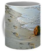 Coconut On The Sand Coffee Mug