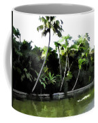 Coconut Trees And Others Plants In A Creek Coffee Mug