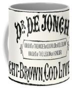 Cod Liver Oil Coffee Mug