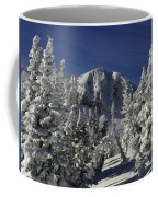 Cody Peak After A Snow Coffee Mug