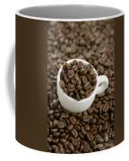 Coffe Beans And Coffee Cup Coffee Mug