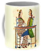 Coffee And Conversation Coffee Mug