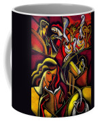 Coffee Break Coffee Mug by Leon Zernitsky