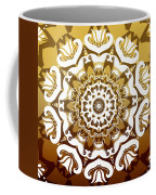 Coffee Flowers 10 Calypso Ornate Medallion Coffee Mug