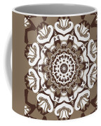 Coffee Flowers 10 Ornate Medallion Coffee Mug by Angelina Vick