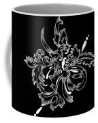 Coffee Flowers 11 Bw Coffee Mug