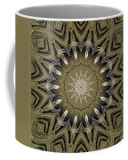 Coffee Flowers 4 Olive Ornate Medallion Coffee Mug