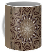 Coffee Flowers 4 Ornate Medallion Coffee Mug