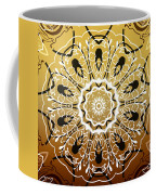 Coffee Flowers 5 Calypso Ornate Medallion Coffee Mug