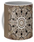Coffee Flowers 5 Ornate Medallion Coffee Mug