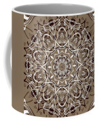 Coffee Flowers 7 Ornate Medallion Coffee Mug