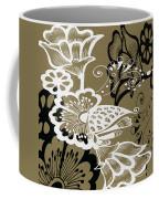Coffee Flowers 9 Olive Coffee Mug