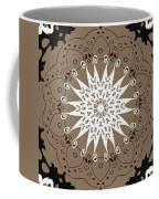 Coffee Flowers 9 Ornate Medallion Coffee Mug