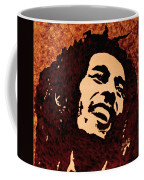 Coffee Painting Bob Marley Coffee Mug