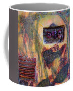 Coin Of The Realm Encaustic Coffee Mug