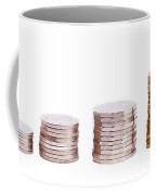 Coin Stack Coffee Mug
