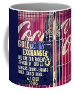 Coke And Gold Coffee Mug