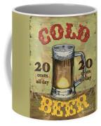 Cold Beer Coffee Mug by Debbie DeWitt