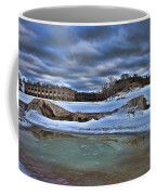 Cold Day At The Beach Coffee Mug