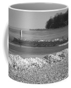 Cold Day On The Pier Coffee Mug