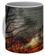 Cold Front Sunset Coffee Mug