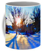 Cold Morning Sun Coffee Mug by Jeff Kolker