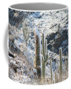 Cold Saguaros Coffee Mug