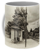 Cold Spring Train Station In Sepia Coffee Mug