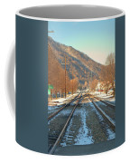 Cold Tracks Through Montgomery Coffee Mug