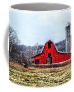 Cold Winter Day At The Farm Coffee Mug