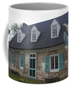 Cole Diggs House Yorktown Coffee Mug by Teresa Mucha