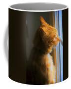 Colekitty On The Lookout Coffee Mug