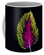 Coleus Leaf Coffee Mug