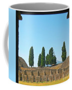 Coliseum At Pompeii Coffee Mug