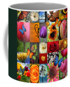 Collage Of Happiness  Coffee Mug by Mark Ashkenazi