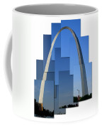 Collage Of St Louis Arch Coffee Mug