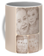Collage Portraits Coffee Mug
