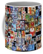 Collage Snowman Horz Photo Art Coffee Mug