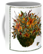 Collage With Wild Flowers Coffee Mug