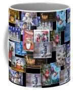 Collage Xmas Cards Horz Photo Art Coffee Mug