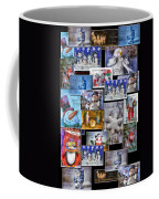 Collage Xmas Cards Vertical Photo Art Coffee Mug