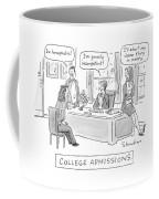 College Admissions Coffee Mug
