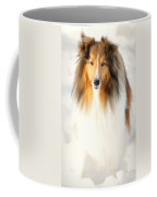 Collie  Coffee Mug by Diana Angstadt