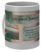 Colm Irish Name Plate Coffee Mug