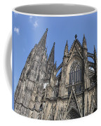Cologne Cathedral South Side Rooflines Coffee Mug
