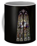Cologne Cathedral Stained Glass Window Of St Paul Coffee Mug